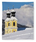 Winter Illusion Fleece Blanket