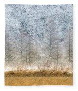 Winter Layers Fleece Blanket