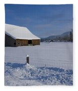 Winter Meadow Fleece Blanket