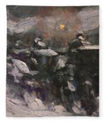 Winter Midnight                         Fleece Blanket