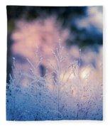 Winter Morning Light Fleece Blanket