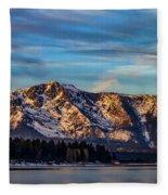 Winter Morning South Lake Tahoe Fleece Blanket