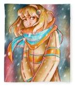 Winter Night Fleece Blanket