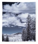 Winter On 89a Fleece Blanket