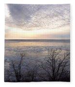 Winter Pastels Fleece Blanket