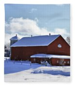Winter Red 2010 Fleece Blanket