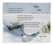 Winter Rest Fleece Blanket