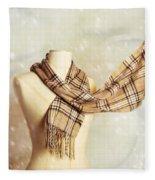 Winter Scarf Fleece Blanket