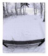 Winter Seat 2 Fleece Blanket