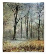 Winter Serenity Fleece Blanket