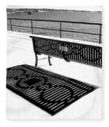 Winter Shadows Fleece Blanket