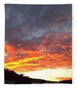 Winter Sky Fleece Blanket