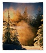 Winter Song Fleece Blanket