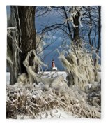 Winter Storm Ashley 2015 #2 Fleece Blanket