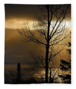 Winter Sunrise 1 Fleece Blanket