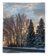 Winter Colors. Fleece Blanket