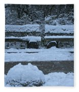 Winter Time Fleece Blanket