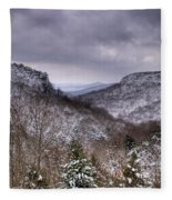 Winter Valley Fleece Blanket