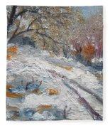Winter I Fleece Blanket
