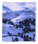Winter Vista Fleece Blanket