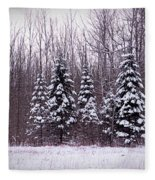 Winter White Magic Fleece Blanket