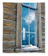 Winter Windows Fleece Blanket