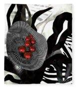 Winterberries Fleece Blanket