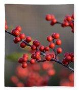 Winterberry Fleece Blanket