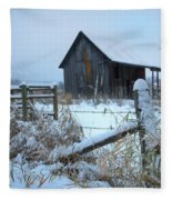 Winters Arrival Fleece Blanket