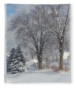 Winter's Best Fleece Blanket