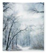 Winter's Cloak Fleece Blanket