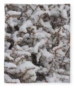 Winter's Contrast Fleece Blanket