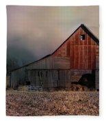 Winter's Eve Fleece Blanket