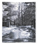 Winter's Gates Fleece Blanket