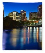 Hartford Lights Fleece Blanket