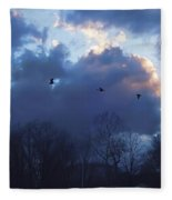 Winter's Solace Fleece Blanket