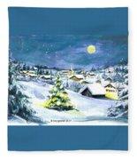 Winterwonderland Fleece Blanket