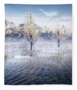 Wintery Coast Fleece Blanket