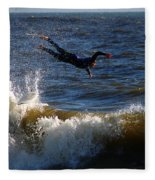 Wipe Out Fleece Blanket