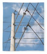 Wired Sky Fleece Blanket