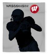 Wisconsin Football Fleece Blanket
