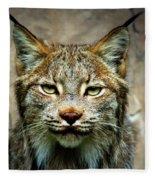 Wise Bob Cat Fleece Blanket