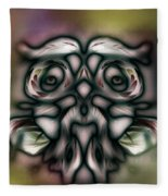 Wise Man Fleece Blanket
