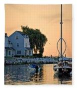 Wishbone Yacht Fleece Blanket