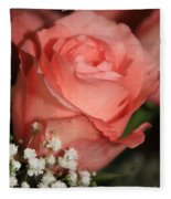 Wishing You Happiness Card Fleece Blanket
