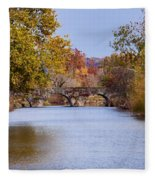 Wissahickon Autumn Fleece Blanket