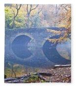 Wissahickon Creek At Bells Mill Rd. Fleece Blanket