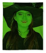 Witch Craft Fleece Blanket