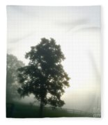 With The Rising Of The Sun 2 Fleece Blanket