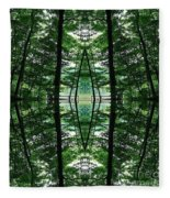 Within Another Dimension  Fleece Blanket